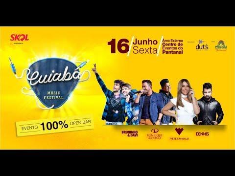 """Cuiabá Music Festival com Ivete, boia cross e exposição de carros <font color=""""red"""">assista vídeo</font>"""