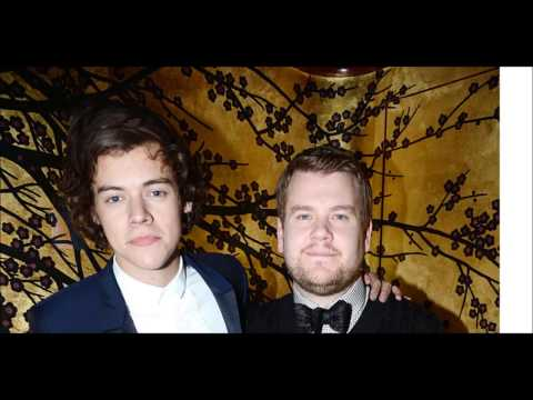 Harry Styles and James Corden - just work or real friendship?