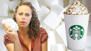 You Won't Believe The Sugar in Starbucks Coffee! Worst Starbucks Drinks, Nutrition Secrets - YouTube