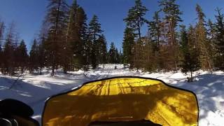 8. SKIDOO BACKCOUNTRY 550 AND SKIDOO 300 FREESTYLE FEATURING KETAWESOMENESS