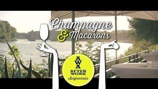 Soirée AWA - Champagne & Macarons 2014