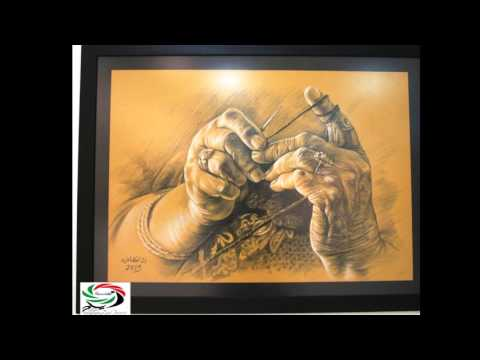 جذور تتألق بريشة الفنان رائد القطناني: زياد جيوسي