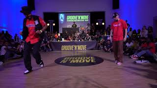 Paping Chulo vs Poppin C – Groove'N'Move Battle 2019 Popping 1/2 Final