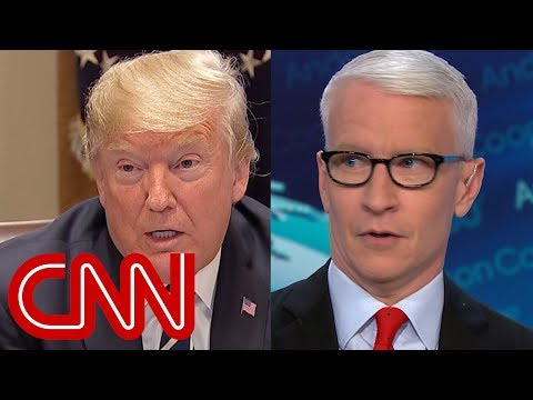 Anderson Cooper rips Trump's damage control