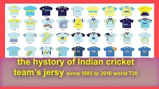 The Indian cricket team has been in coloured clothing for almost 30 years now. Every few years, the jersey has changed or been modified. From ridiculous ...