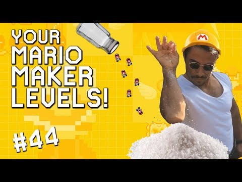 ONE SALTY A-GAME: YOUR Mario Maker Levels #44