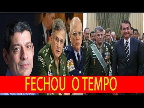 EXÉRCITO BRASILEIRO REAGE APÓS BLOGUEIRO DO GRUPO GLOBO AFRONTAR O GOVERNO BOLSONARO E A INSTITUIÇÃO