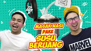 Video MASAK NASI PAKE SUSU BERUANG Wkwkwkw Enak Gak Ya!? MP3, 3GP, MP4, WEBM, AVI, FLV September 2018