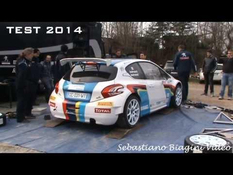 Test Pre-Ciocco - Paolo Andreucci - Peugeot 208 R5