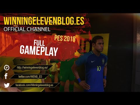 PES 2018 | FULL GAMEPLAY | BRAZIL VS BORUSSIA