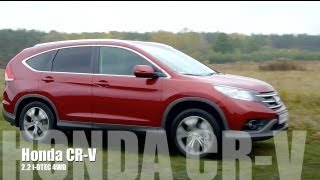 (ENG) 2013 Honda CR-V AWD 2.2 I-DTEC Test Drive And Review