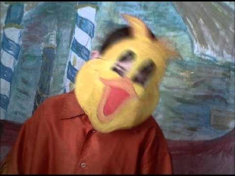 Masque de canard à fabriquer | Masque d'animaux de carnaval