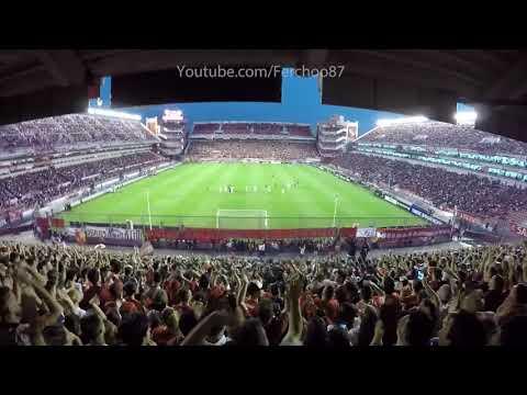 Independiente 2-0 Nacional | La hinchada! Sudamericana 2017 - La Barra del Rojo - Independiente