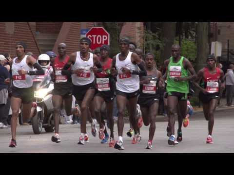 Tsegaye Kebede - Testing out the Sony NEX-FS700U as the elite runners set a record pace at the 2012 Bank of America Chicago Marathon. Shooting is set at 240 fps with the Sony...