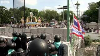 BBC News - Tear Gas Fired At Bangkok Protesters