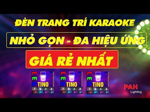 Đèn LED sân khấu mini Tino trang trí phòng Karaoke gia đình muôn sắc màu