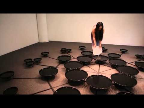 Artist Uses Brainwaves To Manipulate Water