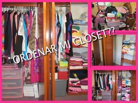Como organizar mi closet videos videos relacionados - Como ordenar un armario ...