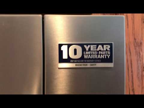 How to remove the 10 Year Warranty label from your Maytag appliances.