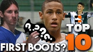 Top 10 Player Debut Boots - What Did Ronaldo, Messi, Neymar Wear?, neymar, neymar Barcelona,  Barcelona, chung ket cup c1, Barcelona juventus
