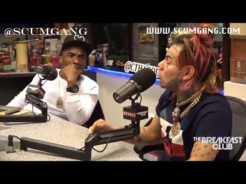6ix 9ine Gets Exposed By SCUMGANG And Breakfast Club Power 105