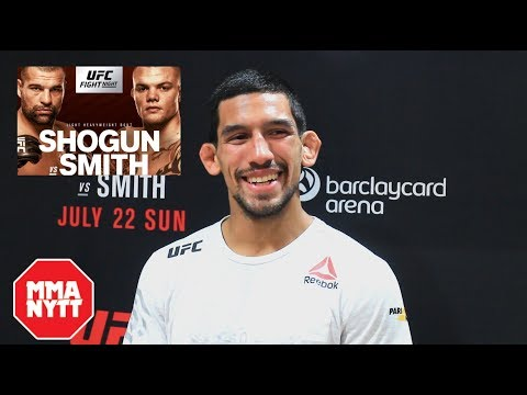 "MANNY BERMUDEZ: ""EXPLAINS WHY HE WANTS TO FIGHT BENITO LOPEZ"" L UFC Hamburg Post Fight"
