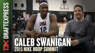 Caleb Swanigan - 2015 Nike Hoop Summit - DraftExpress Interview