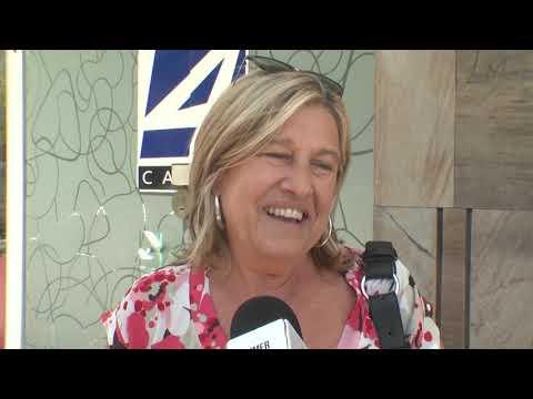 Lucía Minutti, afirmó que se nota el apoyo al Partido Nacional en Salto.