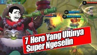 Download Video BIKIN NAEK DARAH, 7 HERO YANG SKILL ULTINYA NGESELIN BANGET-Mobile Legends Indonesia MP3 3GP MP4