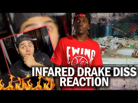 HE WENT IN! PUSHA T - INFARED (DRAKE DISS ) REACTION ( DAYTONA ALBUM)