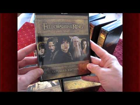 MordorCast ~ A Review Of The Lord Of The Rings: The Motion Picture Trilogy Extended Edition Blu-ray