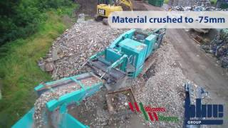 Powerscreen HA and Warrior 600