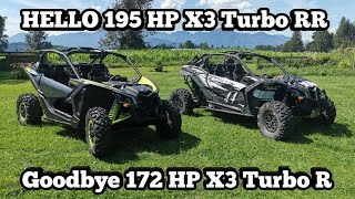 8. 2020 Can-Am X3 XDS turbo RR, Walk around, Specs, and Races vs 18 X3 Xrs Maverick