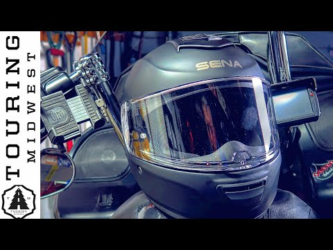 Sena Momentum Lite Bluetooth Integrated Helmet Unboxing