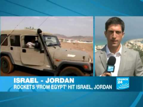 Jordan and Israel come under rocket fire
