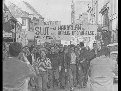 En beretning om de begivenheder som førte frem til de første store lærlingedemonstrationer i efteråret 1966. Det vakte stor opstandelse, og undervisningsminister K.B. Andersen bebudede, at lærlingenes forhold skulle forbedres.