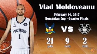 2017.02.14 Vlad Moldoveanu at CSU Sibiu – Cup Quarter Finals
