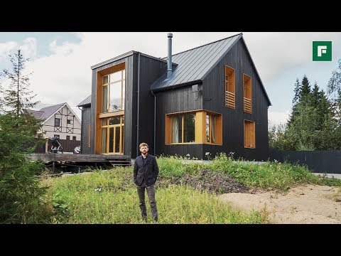 Чёрно-горчичный дом вместо трехкомнатной квартиры // FОRUМНОUSЕ // FОRUМНОUSЕ - DomaVideo.Ru