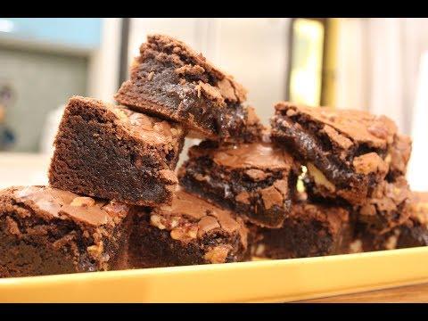 Gooey Brownie   Dessert Recipes   Sanjeev Kapoor Khazana
