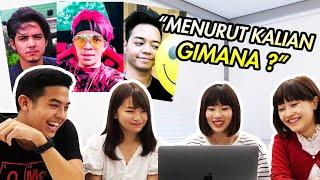 Video REAKSI CEWEK JEPANG LIAT YOUTUBER & AKTOR INDONESIA! (Atta halilintar, Aliando, dll) MP3, 3GP, MP4, WEBM, AVI, FLV Januari 2019