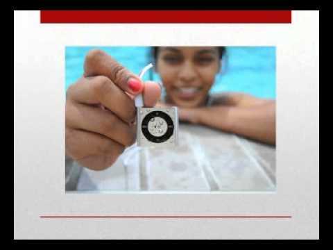 Mp3 Mp4 SILVER   100% WATERPROOF Apple iPod shuffle   waterproofed by UNDERWATER AUDIO for swimming,