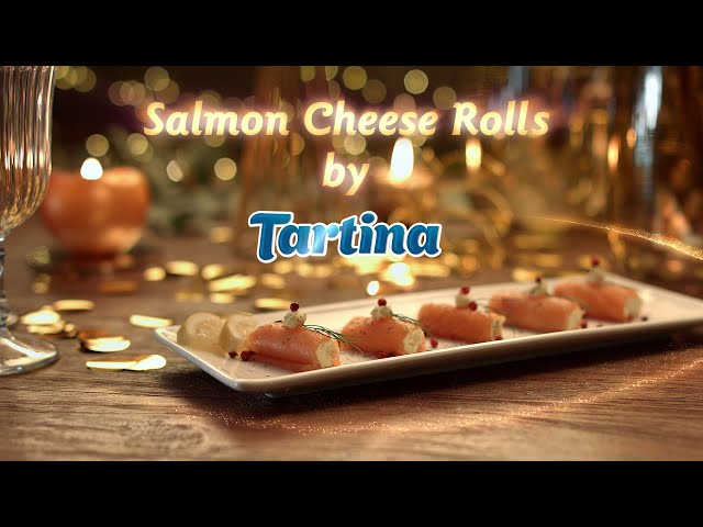 Salmon Cheese Rolls