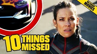 Video ANT-MAN & The WASP Official Trailer - Things Missed & Easter Eggs MP3, 3GP, MP4, WEBM, AVI, FLV April 2018