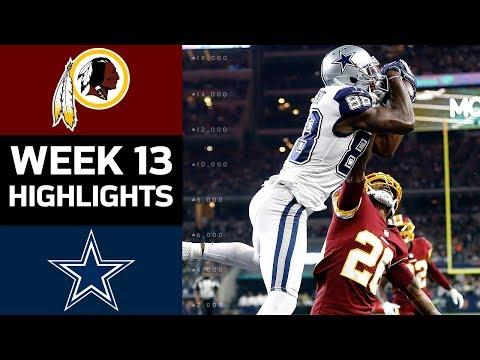 Video: Redskins vs. Cowboys | NFL Week 13 Game Highlights