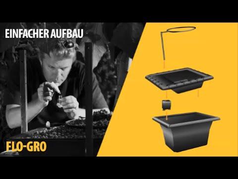Nutriculture Hydrokultur Systeme - Flo-Gro