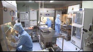 「清浄度10000のクリーンルームで行われる免疫細胞の研究」北のビジネス最前線 DAL・DNA解析ラボラトリー