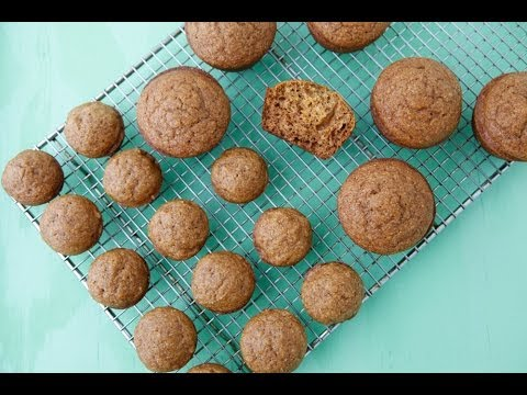 Pumpkin Spelt Muffins – Healthy Holiday Recipes – Weelicious featuring 100 Days of Real Food