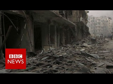 Syria rebels  withdraw from Old City of Aleppo- BBC News