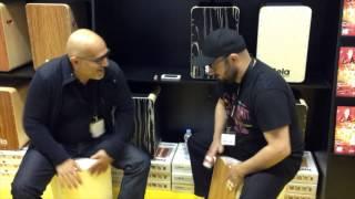 Hakim Ludin and Daddi Bahmani