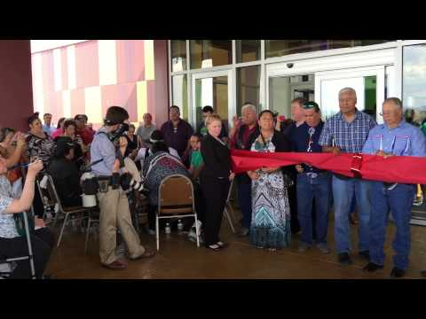 Ribbon Cutting Ceremony at new 12 Tribes Resort Casino.